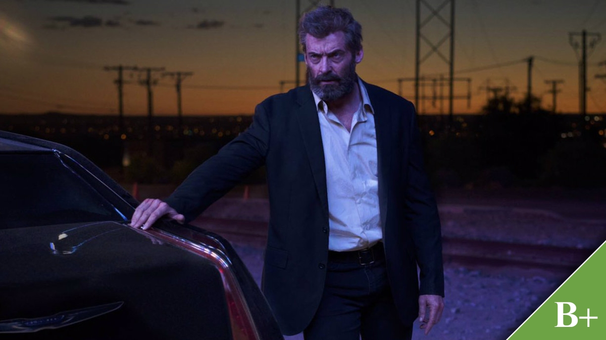 Wolverine is at his most violent and vulnerable in the adventurous Logan